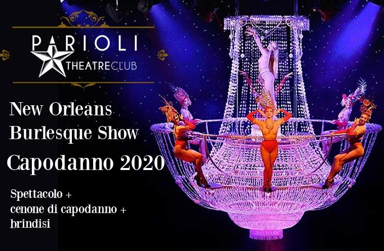 capodanno 2022 parioli theatre club